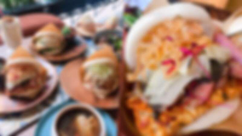 全台最美的刈包店!「KEZUO客坐」東門IG打卡美食,顛覆傳統古早味刈包,炸出來的餡料超好拍