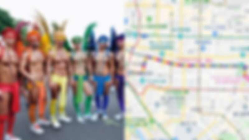 台灣同志大遊行10/26登場!打開Google地圖彩虹路線,從「市府到凱達格蘭大道」一起走起來