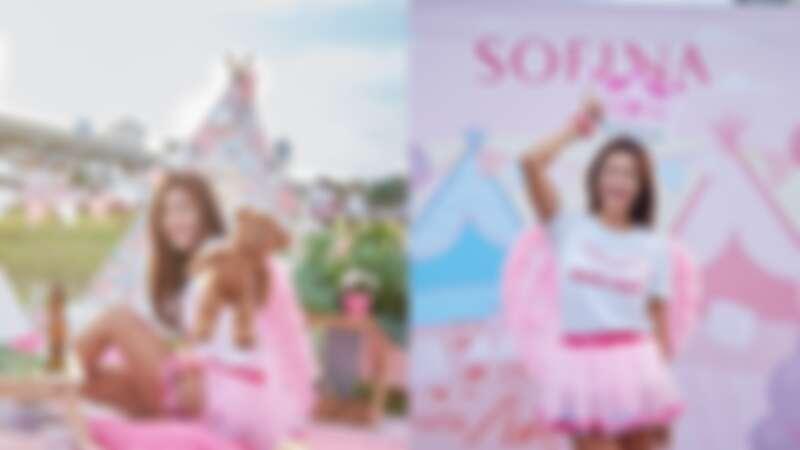 運動人生必備這瓶!粉紅控油霸主全程hold住完美妝感,讓網紅「咪咪愛運動」跑完5K爆汗一樣美!