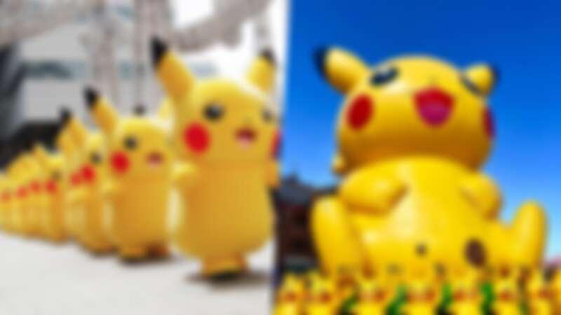 皮卡丘現身信義區!「寶可夢遊行」5大亮點公開,必去《寶可夢 劍/盾》試玩區、限定周邊商品、巨大氣球造景