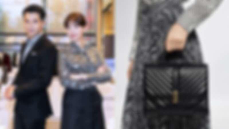 高顏值男女神邱澤和郭雪芙一同現身Boss微風南山專門店開幕,演繹Boss x Meissen節日系列!