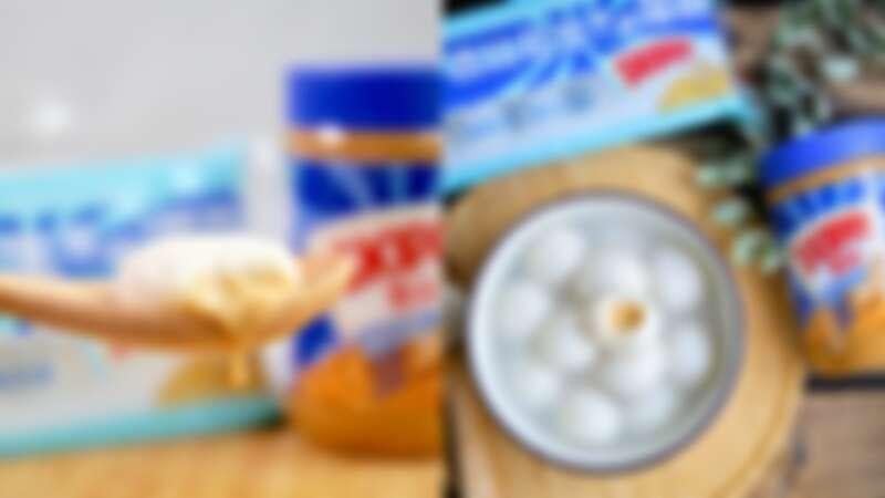 桂冠又有全新聯名口味啦!驚喜推出「吉比花生雙醬湯圓」,爆漿花生內餡完全冬季最暖心甜品