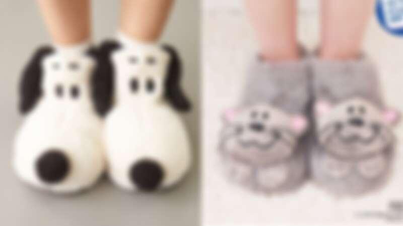 冬天必備這雙「史努比拖鞋」!用超可愛大臉溫柔包覆雙腳,無辜表情、療癒指數破表啦