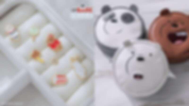 Vacanza x《We Bare Bears熊熊遇見你》聯名第二發!換上聖誕裝扮的熊熊們就是要來融化你的心!