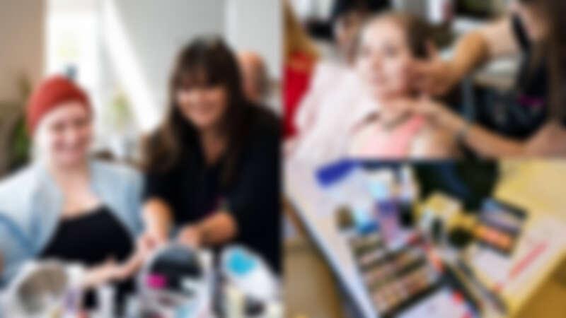 【Vicky Lin 旅英彩妝世界】英國Look Good Feel Better義工體驗,為癌友們化妝,找回她們的自信和美麗