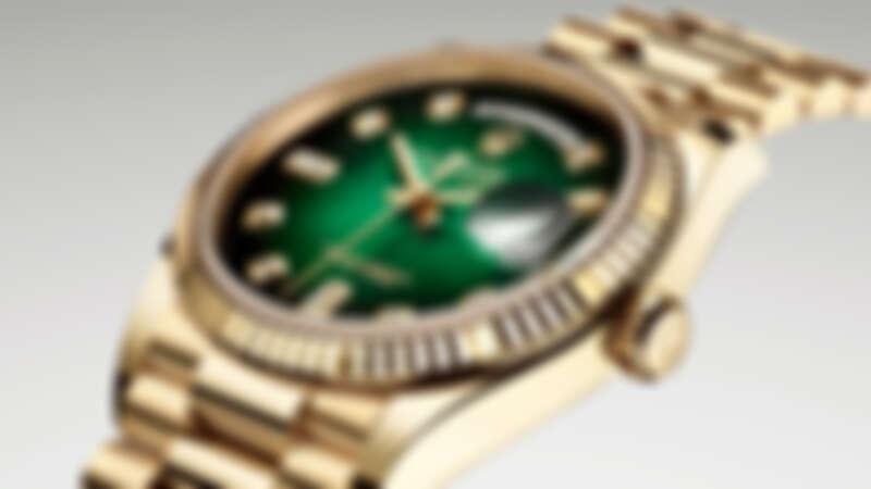 勞力士經典腕錶Day-Date 36    綻放腕間的華麗風采