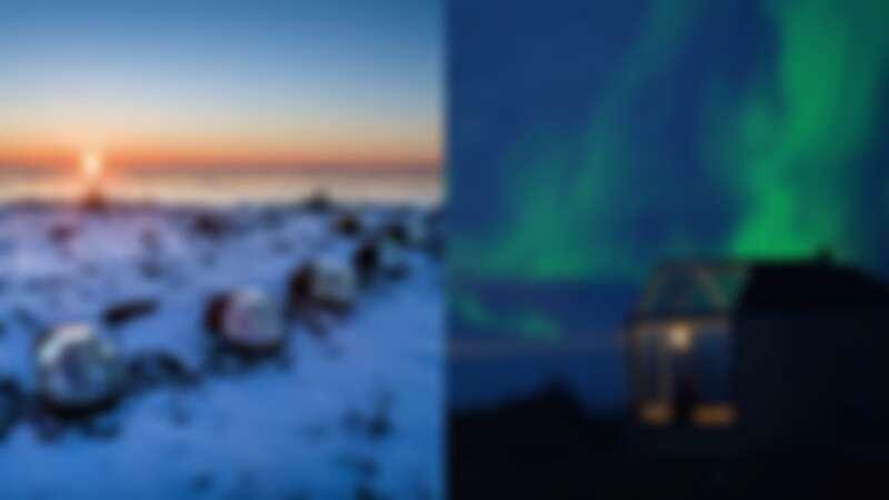 【芬蘭飯店】美到永生難忘!透明玻璃屋能「躺著看極光」,180度全景、雪中體驗煙燻桑拿,浪漫無極限