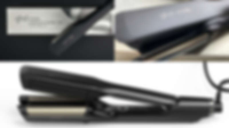 是離子夾形狀的電棒!ghd全新神級「雙管電棒」,打造女神波浪捲跟夾直一樣簡單!