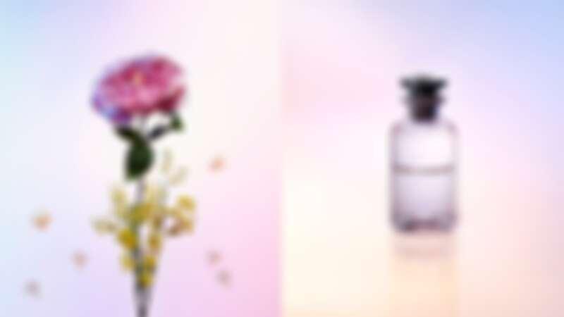 LV路易威登2020年新香水「Heures d'Absence」,隔了93年重現品牌1927年的第一支香水,茉莉搭上玫瑰在經典中有新意