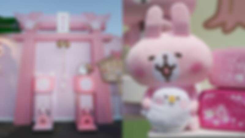 「卡娜赫拉的櫻花趣」快閃店降臨台中!3米高粉紅鳥居能求籤、櫻花拍貼機,少女心大噴發