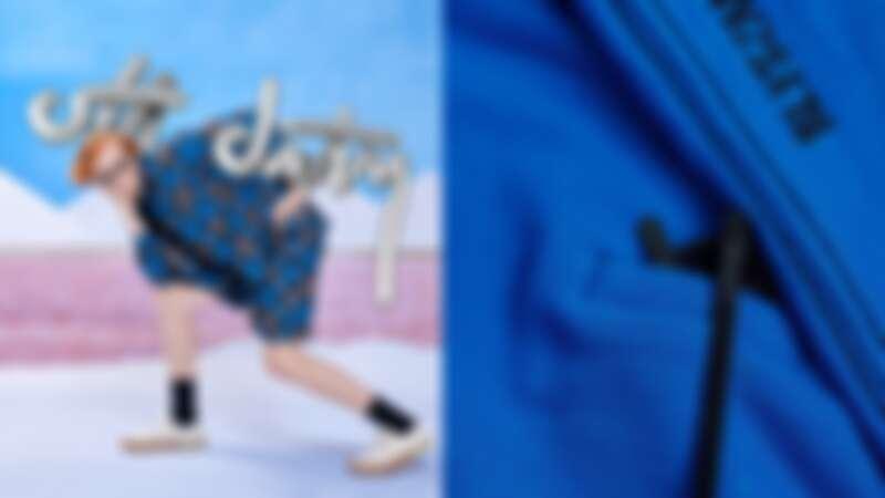 Off DutyXBlyszak聯名系列,服裝上有「拭鏡布口袋」,正確擺放超潮,還不刮花鏡片~