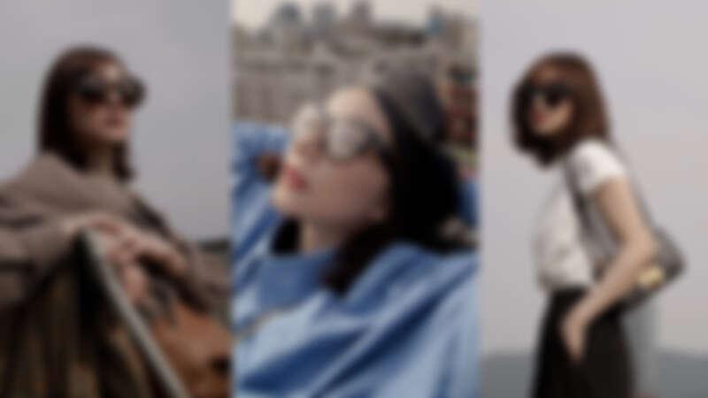 「不逐潮流、永隨經典」 跟著潮模謝琦琦一起戴上OLIVER PEOPLES 墨鏡,創造時尚有型的LOOK 只需要它!