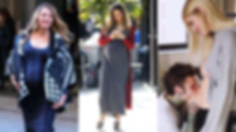 懷孕期的女人最美!跟上歐美名人的孕期穿搭,擺脫各種穿搭設限!