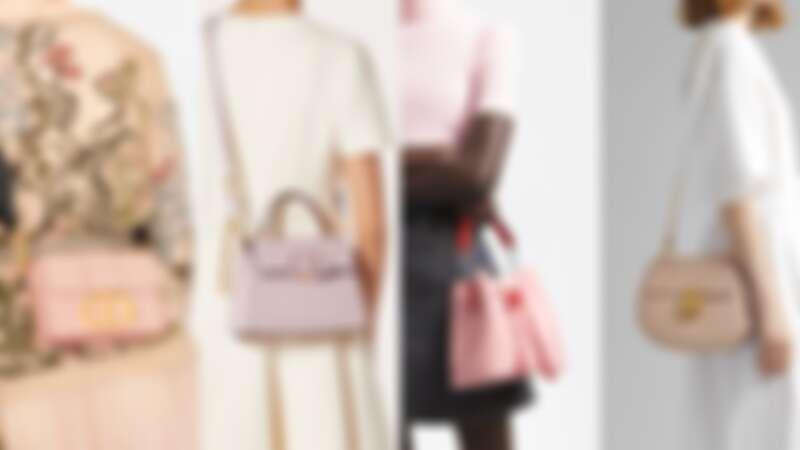 Dior、YSL、LV、Chloé…各大精品牌櫻霧粉手袋推薦,揹上就是春夏最浪漫的仙氣感 (持續更新