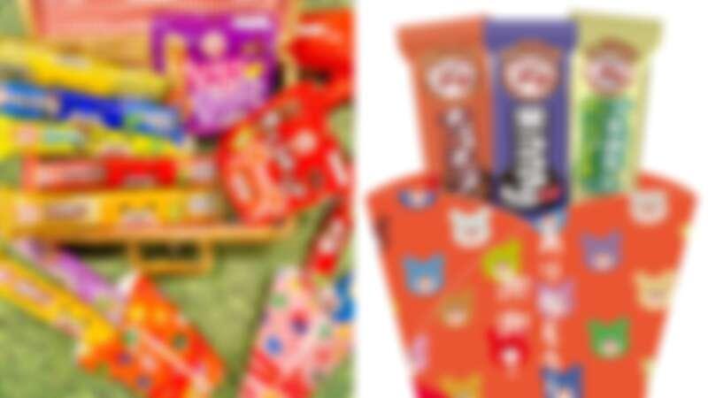 小熊來了!7-ELEVEN推限量小熊餅乾花束,BOURBON小熊24種不同顏色繽紛登場