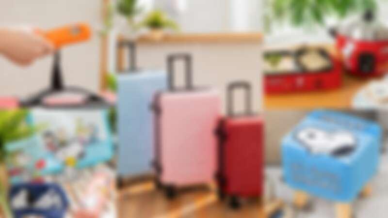 SNOOPY出沒!康是美X史努比再度攜手推27款實用商品,電鍋、70週年限定行李箱必買