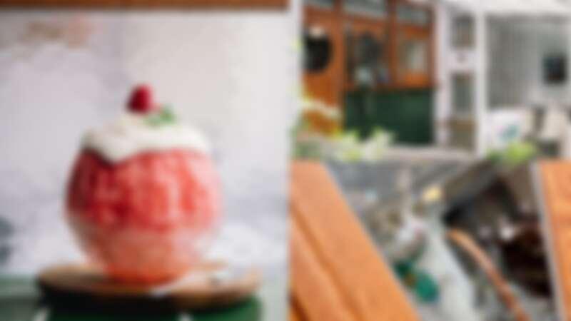 【板橋冰店】晴子冰室創意刨冰每一口都是驚喜、必吃限定雞蛋糕,日式復古懷舊風格讓人一秒穿越