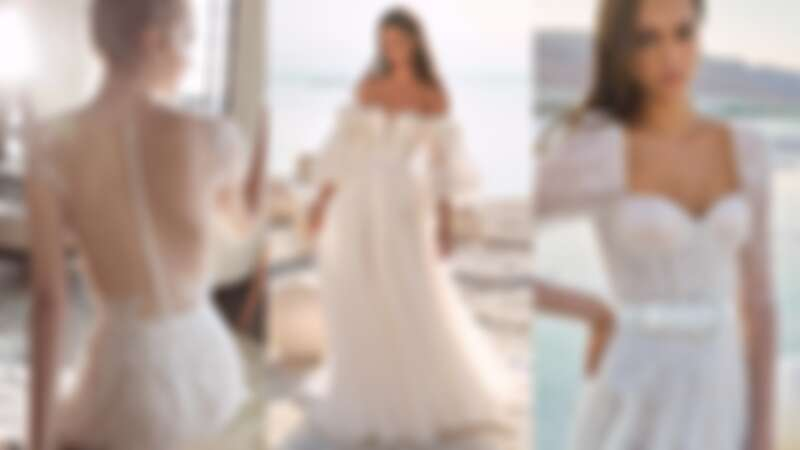 以色列純手工婚紗品牌Lee Petra Grebenau,使你優雅浪漫出嫁!