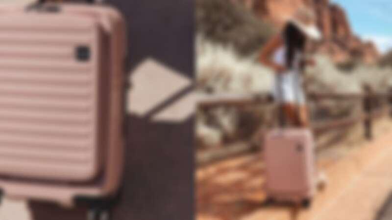 這咖粉色太夢幻!日系品牌LOJEL「粉嫩玫」行李箱超人氣,輕旅行潮女必收推薦