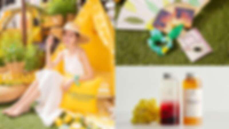 歐舒丹「普羅旺斯野餐趣」夢幻帳篷區、黃色復古小卡車、南法小市集…打造美照拍不完的快閃店,還能感受夏日限定馬鞭草系列的沁涼感