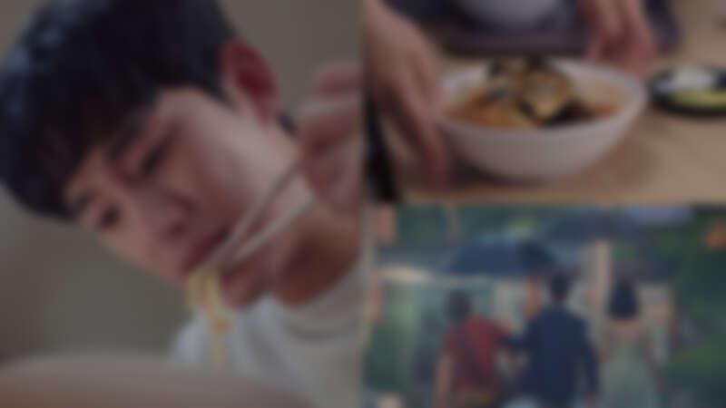 金秀賢《雖然是精神病但沒關係》「炒碼麵」、雨傘的意義,「味覺觸動的情感,永遠是最刻骨銘心的滋味。」