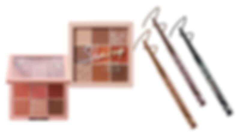 盛夏華麗新妝扮,閃耀調眼色,特選時髦茶粉色、茶棕色,翻玩百變眼妝不色限 !