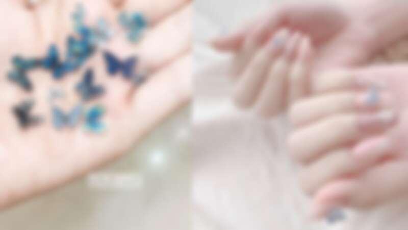 2020夏日一定要做的「立體蝴蝶」美甲,翩翩飛舞在指尖太仙氣!10款範本推薦