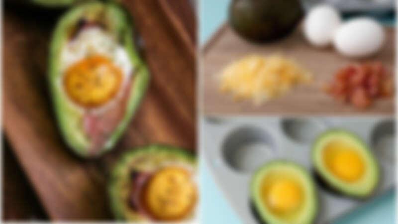 不敢吃酪梨?一定要試試這道營養健康又美味的培根酪梨焗蛋 一吃就會上癮!