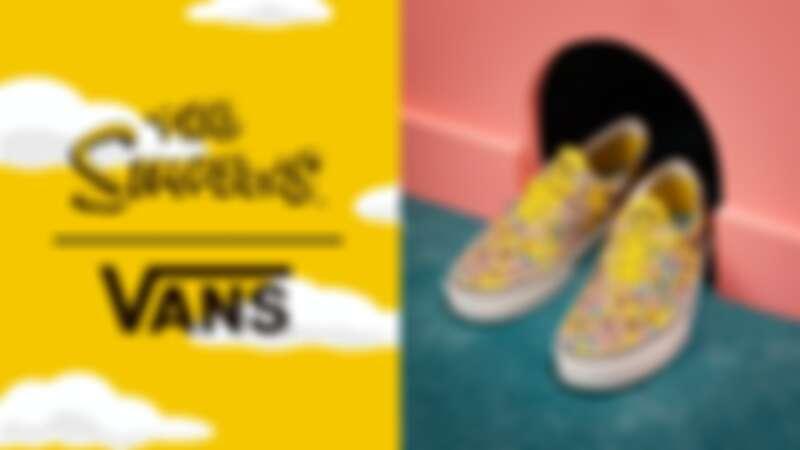 找上辛普森家庭幽默客串!Vans X The Simpsonsxu聯名系列推出經典鞋款、服飾、配件