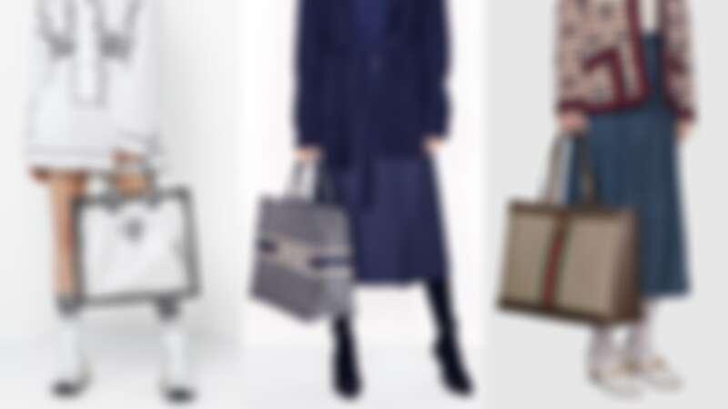 呼叫大包控!Dior、CELINE、LV、Gucci...超過10款大型精品托特袋盤點,大容量才夠裝