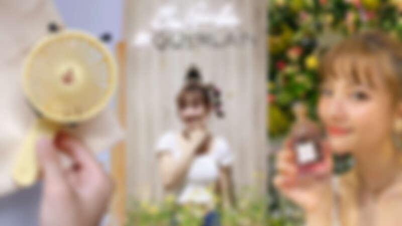 嬌蘭舉辦「BEE GARDEN皇家蜜境快閃店」花園般絕美打卡點,滿額還送超可愛小蜜蜂隨身涼風扇
