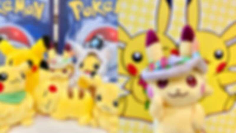 皮卡丘天堂!寶可夢快閃店進駐高雄大魯閣草衙道,日本Pokémon Center卡比獸、小火龍、仙子伊布限定商品大公開