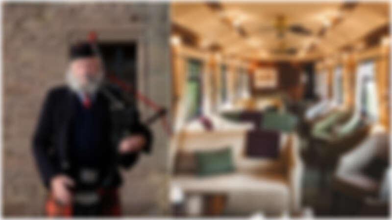 【蘇格蘭旅遊】火車奢華旅,車窗外停駐的風景