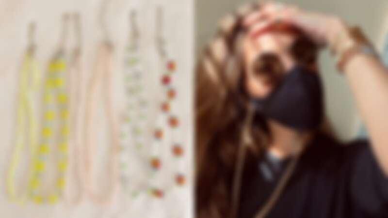 歐美、韓國都在瘋!最新潮物「口罩項鍊」你懂嗎?盤點4間品牌讓你口罩不再弄不見