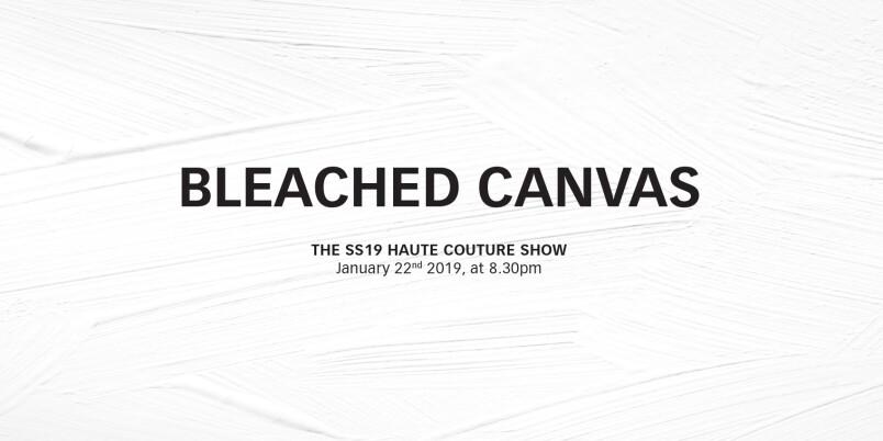 【線上看】秀場零時差!Givenchy 2019 春夏高級訂製大秀,現正登場