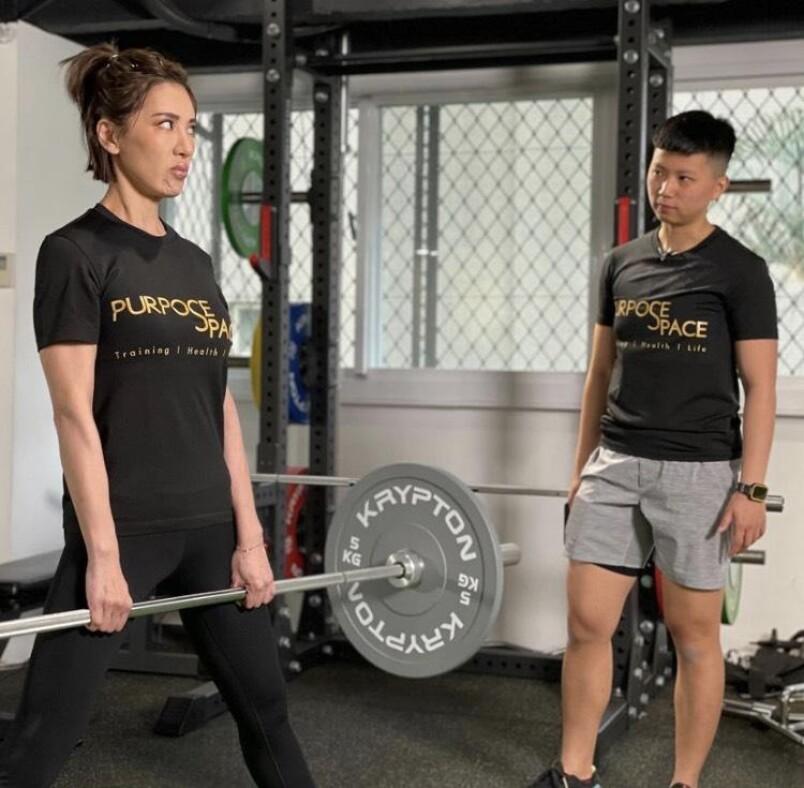 【下半身中階訓練】腿後側/臀部/背部肌群硬舉運動練起來|小禎愛健身#5