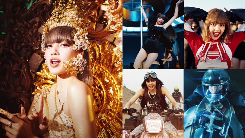叫我LALISA!BLACKPINK LISA個人 Solo〈LALISA〉MV 驚人百變造型,重機+鋼管超帥,「泰國公主」創巔峰!